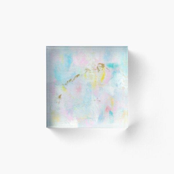Unicorn Dreams Abstract Painting Prints Acrylic Block