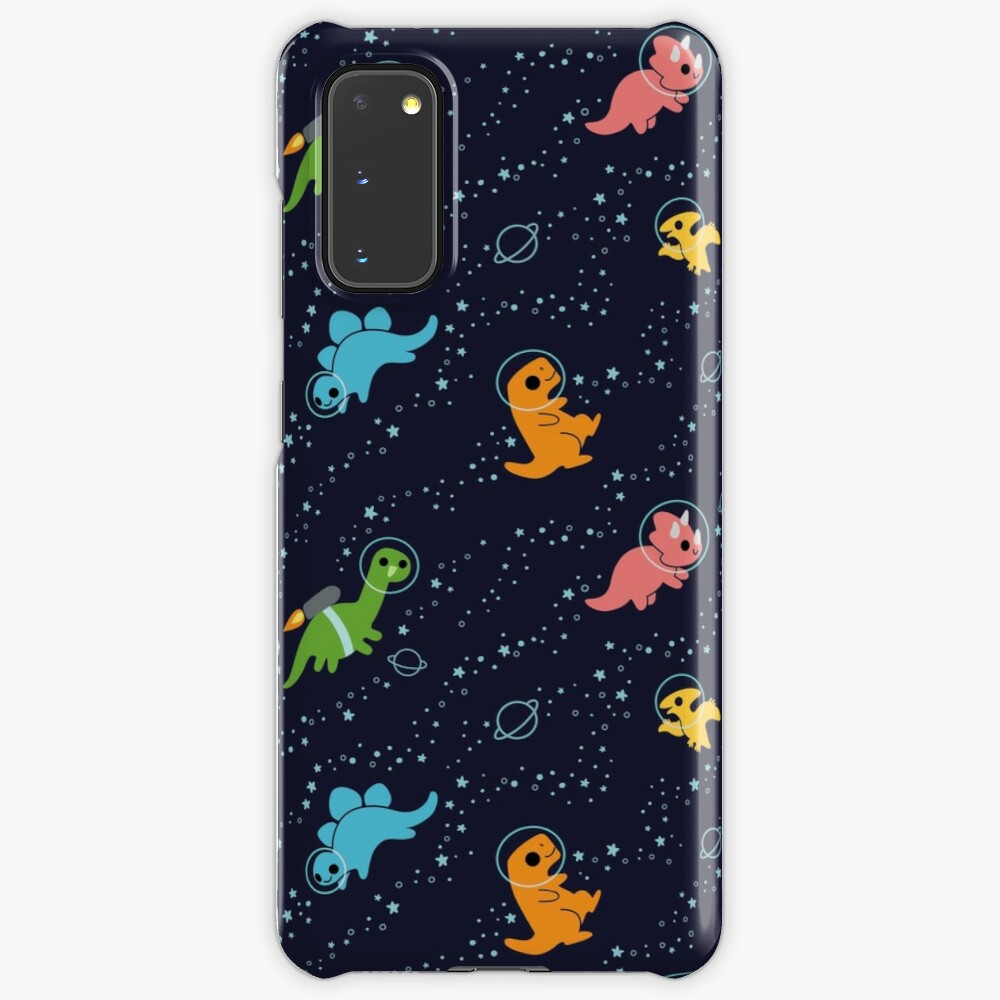 Dinosaurs In Space Case & Skin for Samsung Galaxy