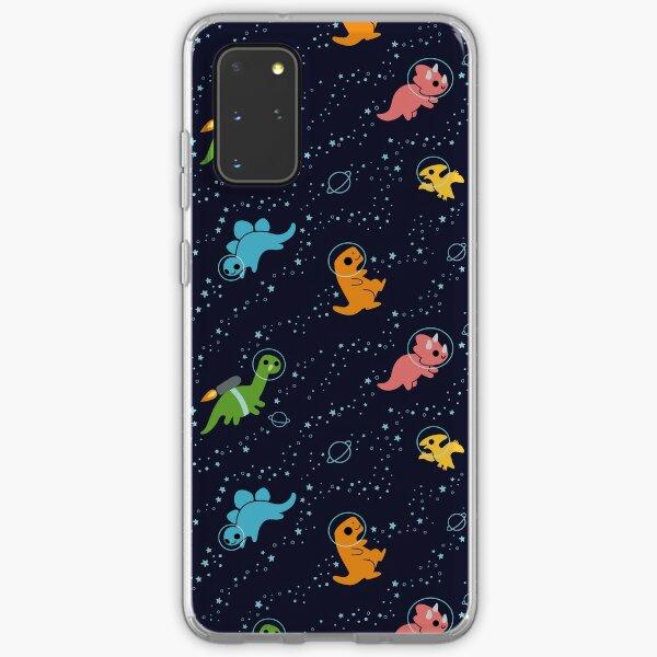Dinosaures dans l'espace Coque souple Samsung Galaxy