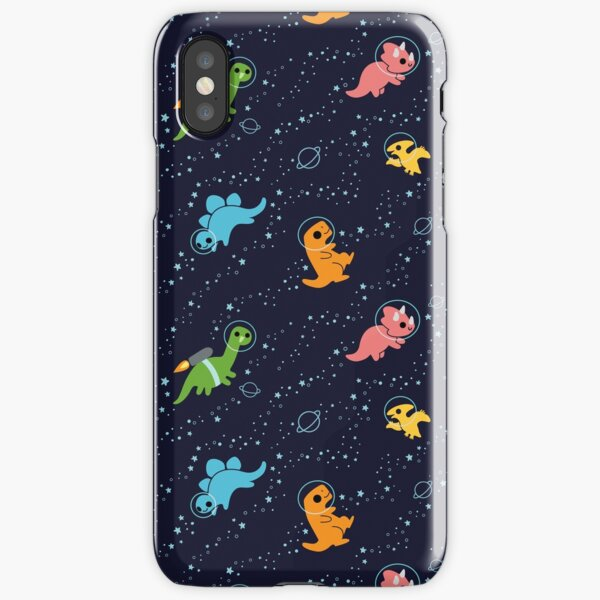 Dinosaurs In Space iPhone Snap Case