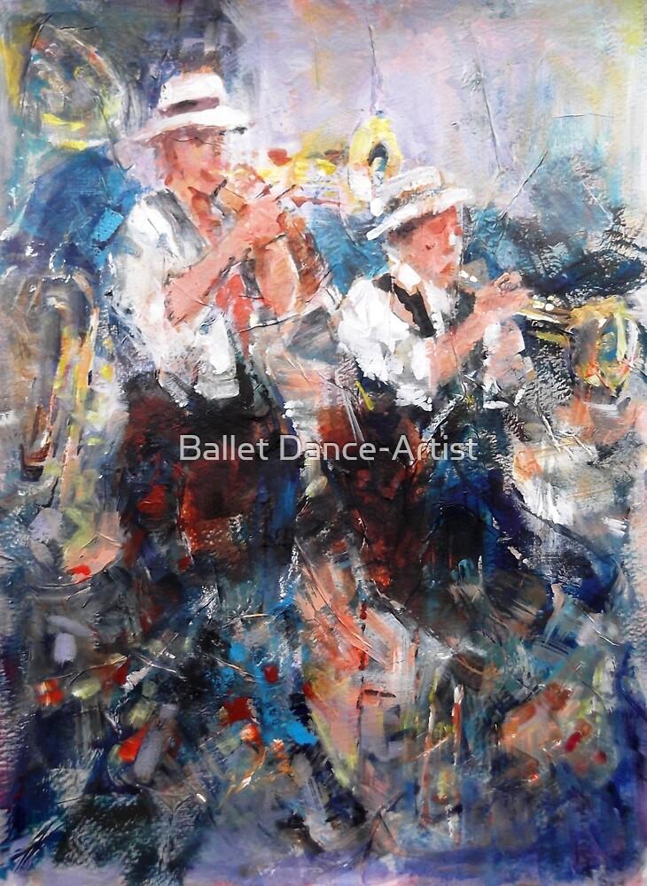 Jazz Musicians - Let's Liven It Up! by Ballet Dance-Artist