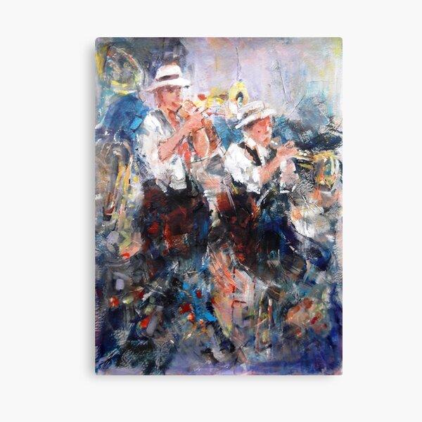 Jazz Musicians - Let's Liven It Up! Canvas Print