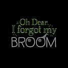 Oh dear, I forgot my broom by jazzydevil