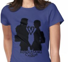 KORRASAMI IS CANON v2 Womens Fitted T-Shirt