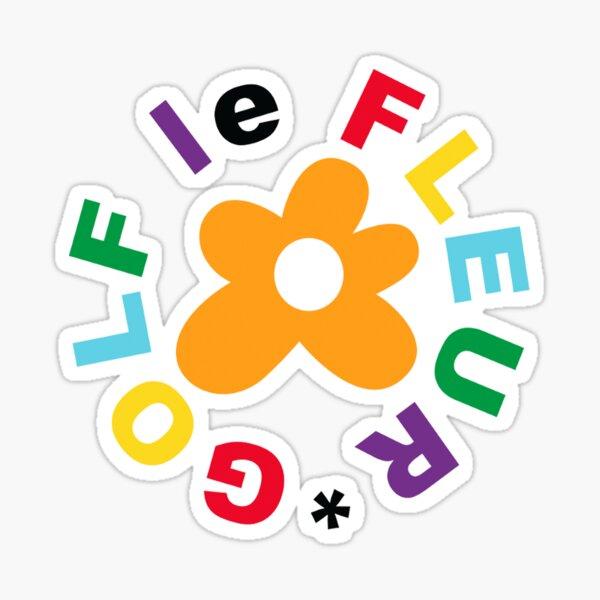 Le design Creator Gold Le Fleur. Sticker