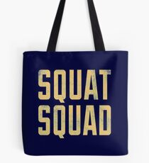 Gym fitness weight lifting shirt Tote Bag