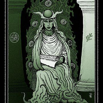 High Priestess of Cthulhu by Azhmodai