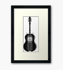 Lámina enmarcada Shawn Mendes Guitarra Tatuaje