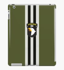 D-Day Stripes with 101st Airborne Patch iPad Case/Skin
