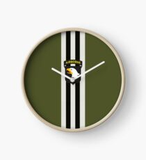 D-Day Stripes with 101st Airborne Patch Clock