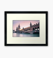 Berlin Oberbaumbridge Framed Print