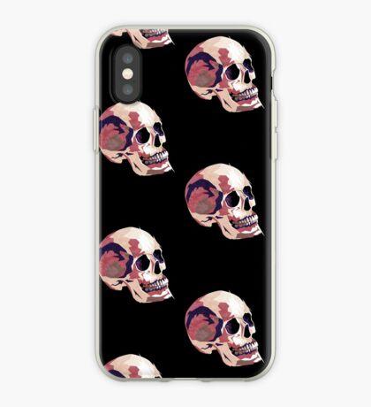 Skull pink Halloween iPhone Case