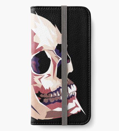 Skull pink Halloween iPhone Wallet