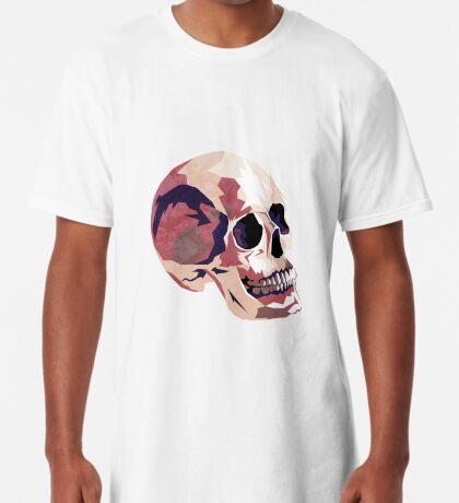 Skull pink Halloween Long T-Shirt