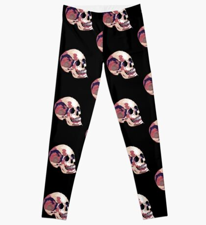 Skull pink Halloween Leggings