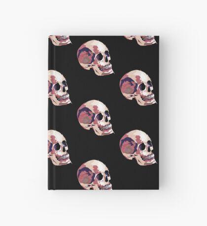Skull pink Halloween Hardcover Journal