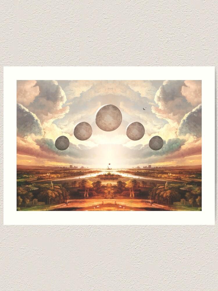 Art Print US Landscape Edition Vanishing Point