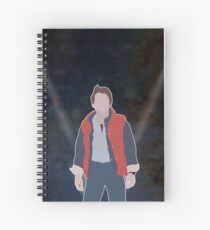 MARTY MCFLY Spiral Notebook