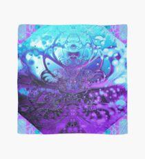 Meditating Entity (amethyst-turquoise) Scarf