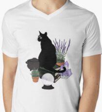 Der Vertraute (Transparent) T-Shirt mit V-Ausschnitt