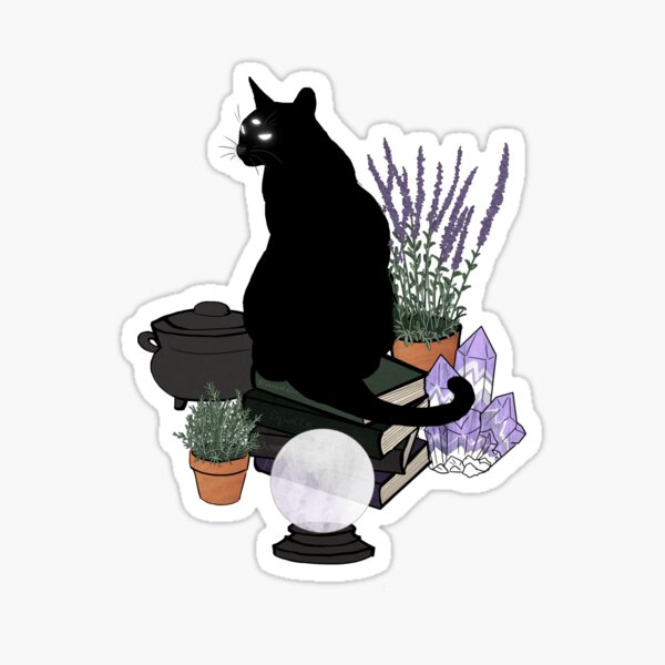 The Familiar (Transparent) Sticker