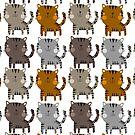 Kitty Catty Kitty by stamptout
