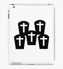 Cemetery Gravestones iPad Case/Skin
