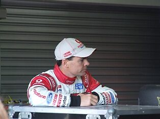 Lowndes/Whincup - L&H 500 Phillip Island 2008 by Darren Minett