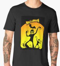 Spirits on Halloween night Men's Premium T-Shirt
