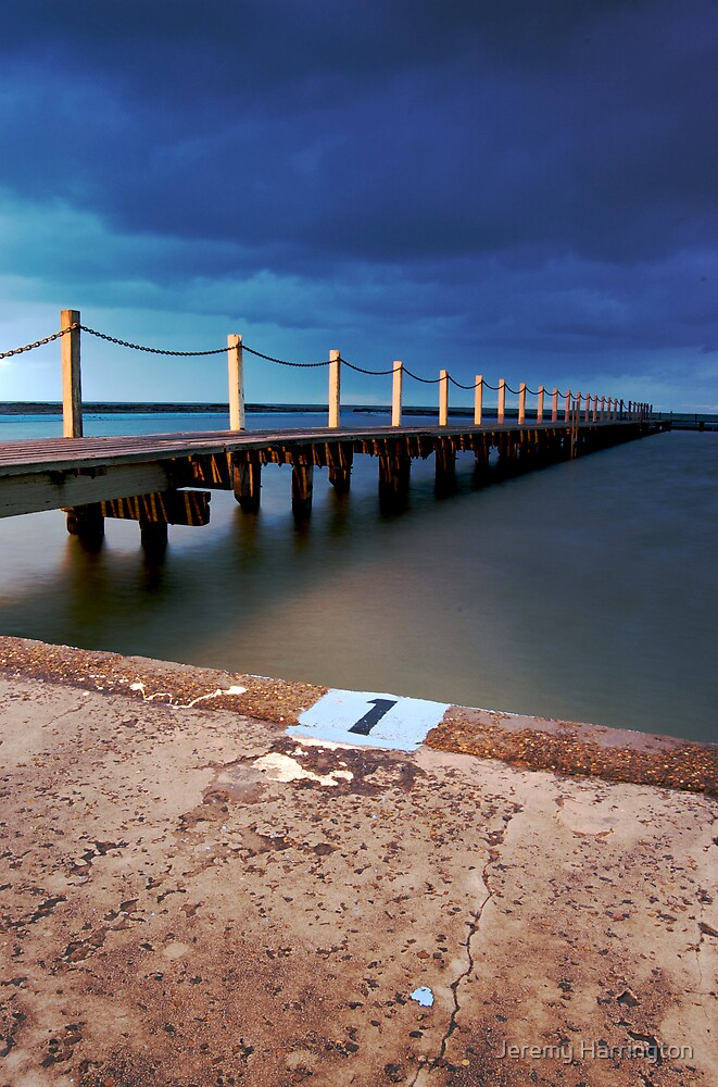 North Narrabeen Rockpool by Jeremy Harrington