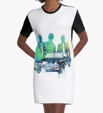 Supernatural Graphic T-Shirt Dress