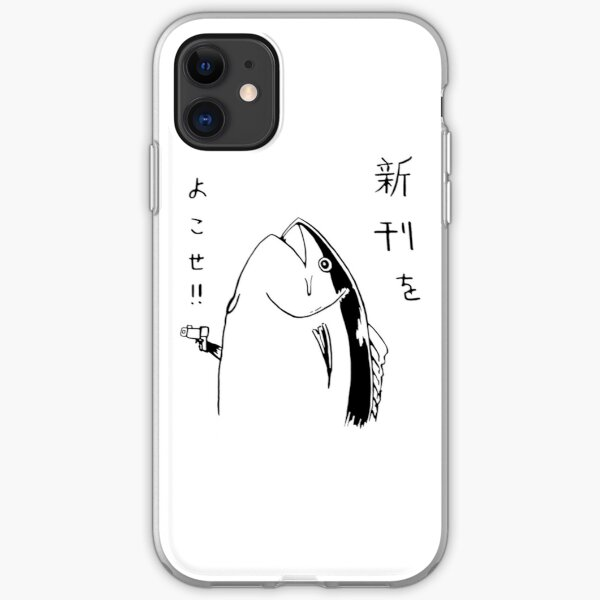 Japanese fish hold up iPhone Soft Case