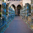 Cloister Garden of Santa Chiara Monestary by Yukondick