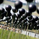 Shiny Black Balls by Hena Tayeb