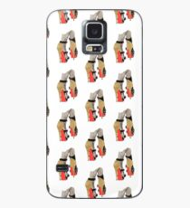 Gold Red Bottoms Case/Skin for Samsung Galaxy