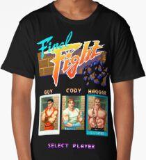 Final Fight Arcade Pixel Long T-Shirt