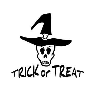 Trick Or Treat Badge by Chesnochok