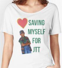 saving myself for jtt Women's Relaxed Fit T-Shirt