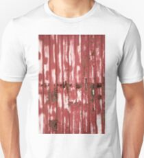Red Wood Texture T-Shirt