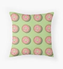 Frosted Pink Throw Pillow