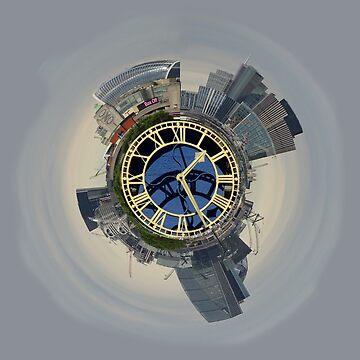 London city skyline  by santoshputhran