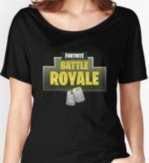 Fortnite battle royale Women's Relaxed Fit T-Shirt