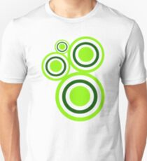 Green circles Unisex T-Shirt