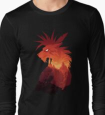 The Canyon's Guardian Black Long Sleeve T-Shirt