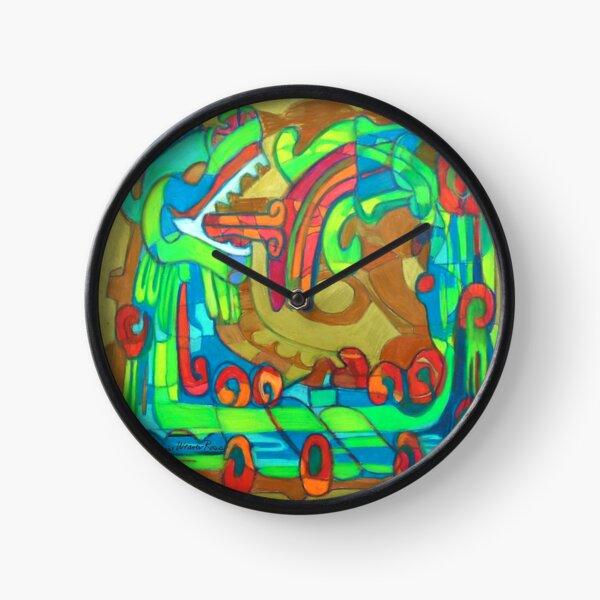 Xiuhcoatl Clock
