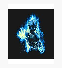 A Vegeta Photographic Print