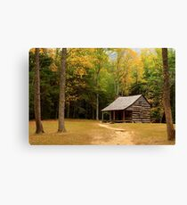 Autumn In The Cove Canvas Print
