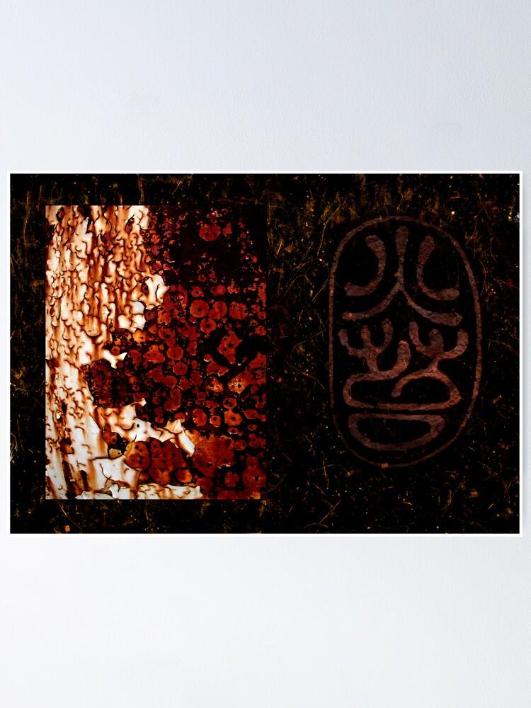Alternate view of Night Rust Poster