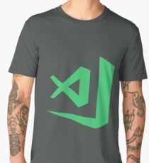 visual studio code  - orange Men's Premium T-Shirt