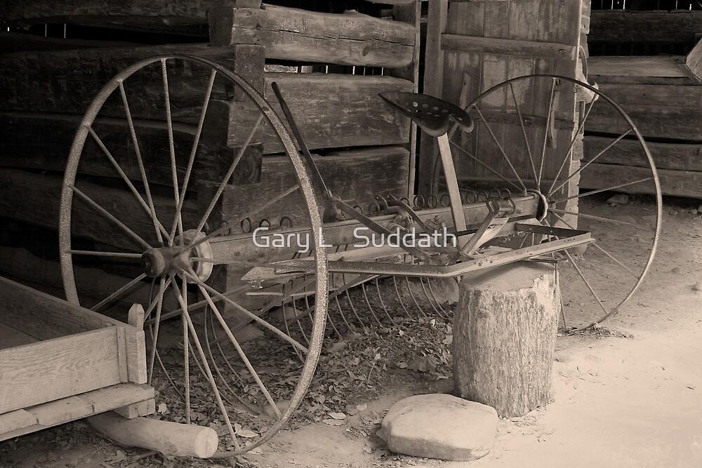 Early Hay Rake by Gary L   Suddath